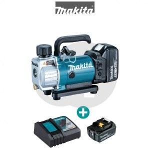 Trådløs vakuumpumpe Makita DVP180RT; 18 V; 1x5,0 Ah batt.