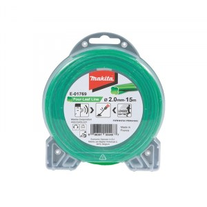 Trimmertråd Makita E-01769; 2,0 mm/15 m
