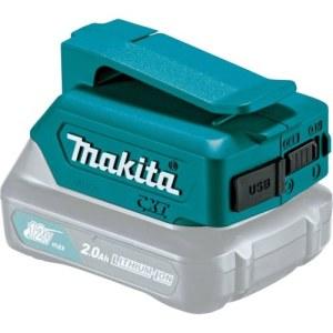 Batteriadapter Makita 12V -> USB Til opladning af telefonbatterier