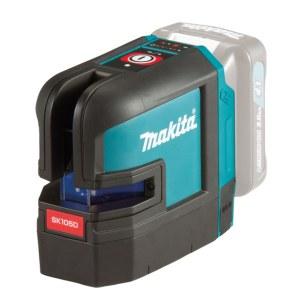 Selvnivellerende krydslinjelaser Makita SK105DZ; 10,8 V (uden batteri og oplader)