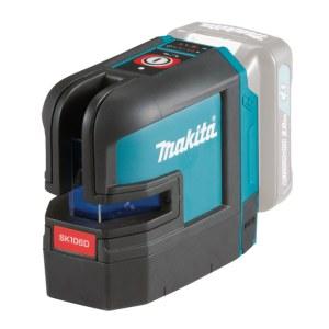 Selvnivellerende krydslinjelaser Makita SK106DZ; 10,8 V (uden batteri og oplader)