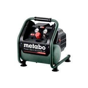 Akku luftkompressor Metabo 160-5 18 LTX BL OF; 18 V (uden batteri og oplader)