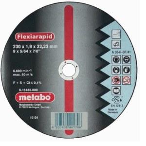 Skæreskive Metabo; 230x1,9 mm for metall