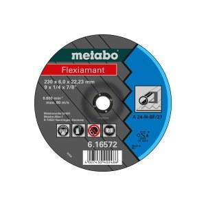 Slibeskive Metabo A 24-N; 125x6 mm; 1 stk.