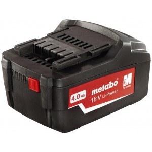 Batteri Metabo Extreme 18V; 4,0 Ah; Li-ion