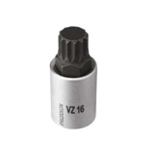 Topnøgle Proxxon 23328; 1/2''; VZ 16; 55 mm; 1 stk.