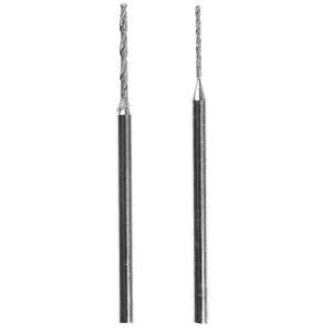 Diamant twist øvelser Proxxon; 0,8/1,2 mm; 2 stk.