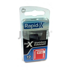 Klammer Rapid;11,4x8 mm; 1080 stk.; type 53; rustfrit stål