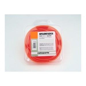 Trimmertråd (1,6 mm/15 m) orange, rund