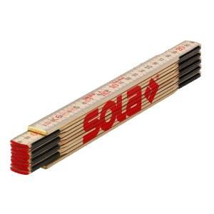 Træ foldelineal Sola H 2/10; 2 m