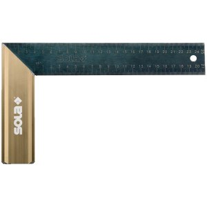 Vinkelmåler Sola SRG 200; 200x145 mm