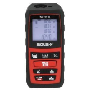 Laserafstandsmåler Sola Vector 80