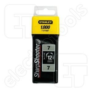 Klammer Stanley; 12 mm; 1000 stk; type 7