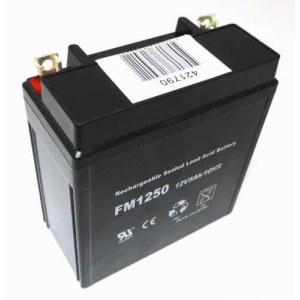 Batteri Texas 00421790; 12 V; 5,0 Ah