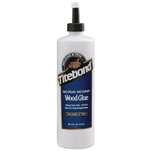 Trælim Titebond No-Run, No-Drip Wood Glue; 473 ml
