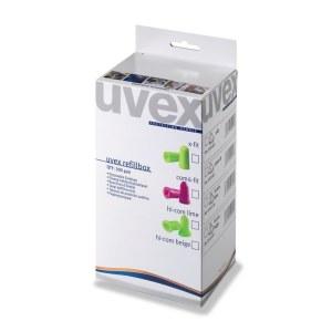 Ørepropper Uvex X-fit; REFILL One2Click; 37 dB; 300 stk.