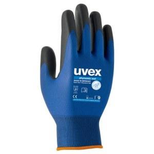 Handsker Uvex Phynomic Wet; 3131X; 9 størrelse; fugtbestandig; blå