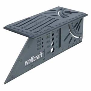 Justerbar sidestøtte Wolfcraft 3D; 150 mm