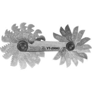 Skrue pitchmåler Yato YT-29980; 0,25-6,0 mm